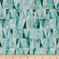 Kokka Triangles Lawn Blue