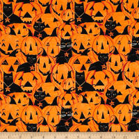 Too Cute To Spook Pumpkins With Cats Orange