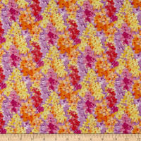 Bloom Bouquet Abstract Floral Orange