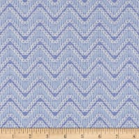 Moody Blues Chevron Light Blue