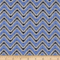 Moody Blues Chevron Medium Blue