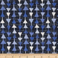 Moody Blues Arrowheads Dark Blue