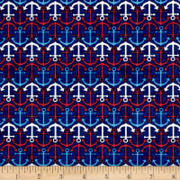 Anchor'S Away Mini Anchors Navy