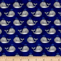 Anchor'S Away Mini Whales Navy
