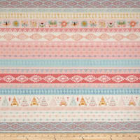 Dream Catcher'S Flannel Novelty Stripe Pink/Aqua