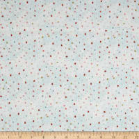 Dream Catcher'S Flannel Abstract Small Dot Aqua