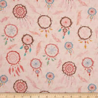 Dream Catcher'S Flannel Dream Catchers Pink