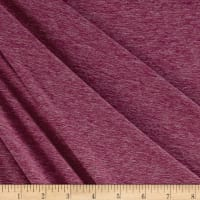 Fabric Merchants Double Brushed Jersey Knit Red Two Tone