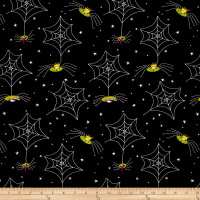 Me & My Ghoul Friend By Dt-K Signature Spider Webs Black