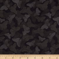 Wilmington Chantrell Butterflies Tonal Black