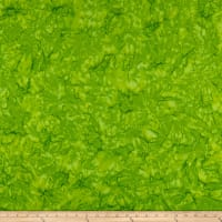 Wilmington Batiks Rock Candy Abstract Lime Green