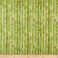Wilmington Deer Meadow Birch Texture Green