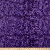 "Wilmington Essential 108"" Backing Delicate Friends Purple"