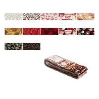 """Wilmington Morning Coffee Crystals 2.5"""" Strips 24 Pcs Multi"""