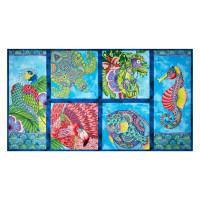 "Wilmington Paradise Falls Craft 24"" Panel Multi"