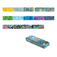 "Wilmington Paradise Falls Crystals 2.5"" Strips 24 Pcs Multi"