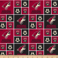 NHL Broadcloth Arizona Coyotes