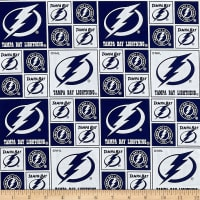 NHL Broadcloth Tampa Bay Lightning