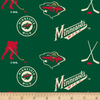NHL Fleece Minnesota Wild Tossed