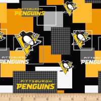 NHL Broadcloth Pittsburghh Penguins