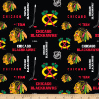 NHL Broadcloth Chicago Blackhawks Tossed