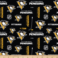 NHL Broadcloth Pittsburgh Penguins Toss