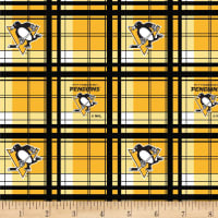 NHL Fleece Pittsburgh Penguins Plaid