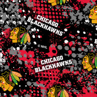 NHL Broadcloth Chicago Blackhawks Graphics