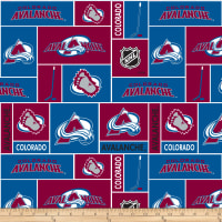 NHL Broadcloth Colorado Avalanche