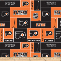 NHL Broadcloth Philadelphia Flyers Blocks