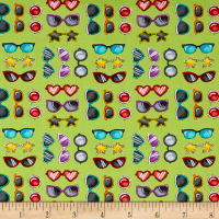 Road Trip Sunglasses Green