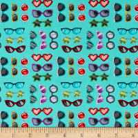 Road Trip Sunglasses Teal