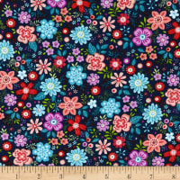 Road Trip Medium Floral Royal