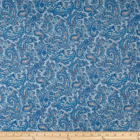 Windsor Park Paisley Light Blue