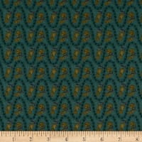 Itty Bitty Wavy Stripe Teal