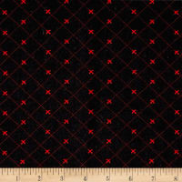 Telio Colorado Poly Faille Print Take Flight Black/Red