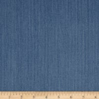 Telio Rayon Denim Stripe Light Blue