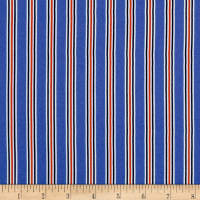 Telio Moda Crepe  Stripe Royal