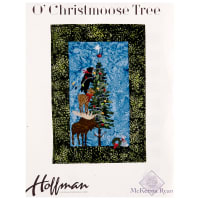 "Hoffman O'Christmoose Tree 17"" x 24.5"" Kit Grizzly"