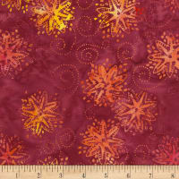 Timeless Treasures Tonga Batik Mini Garnet Pinwheel Jam