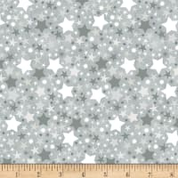 Timeless Treasures Moon & Stars Stars Slate
