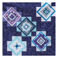 Wishing Star Quilt Kit Multi