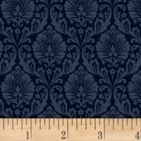 Love From Paris Damask Navy