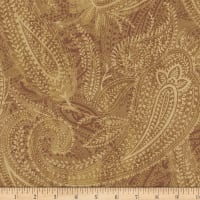 "Paisley 108"" Wide Back Camel"
