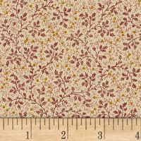 "Berry Vine 108"" Wide Back Burgundy"
