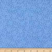 Cubby Bear Flannel Prints Triangles Blue