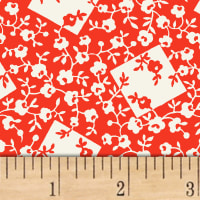 Storybook Ranch Rose Bandana Red