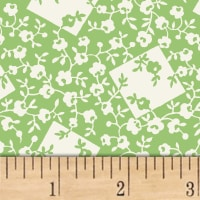 Storybook Ranch Rose Bandana Green