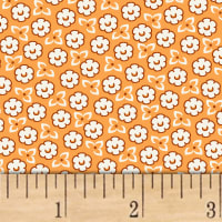 Storybook Ranch Sweet Floral Orange