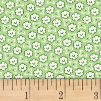 Storybook Ranch Sweet Floral Green